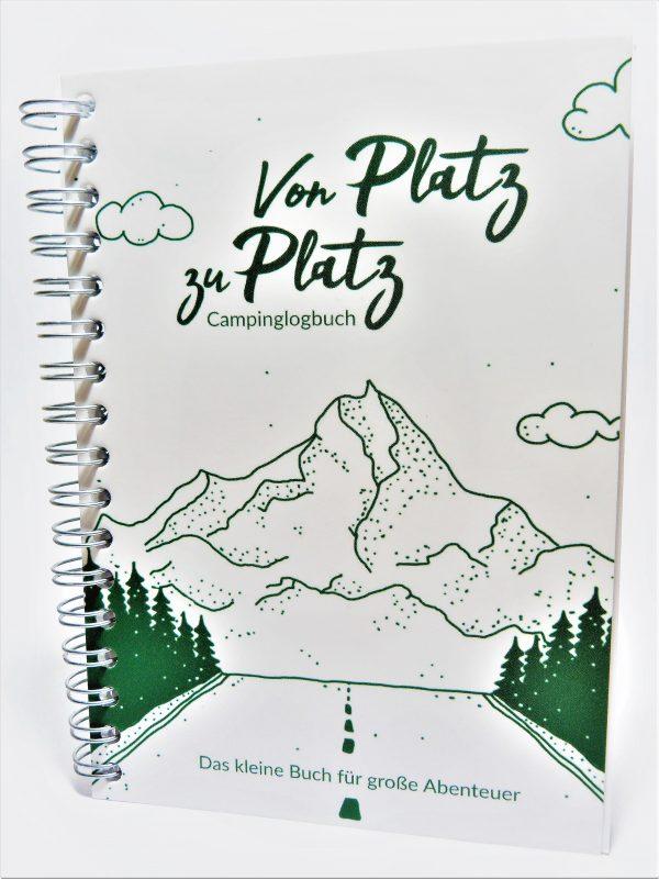 Camping Logbuch, Tagebuch Camperkidz Shop Camping Spiele für Kinder