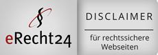 E recht 24 Disclaimer Rechtssichere Webseite by Idunatek